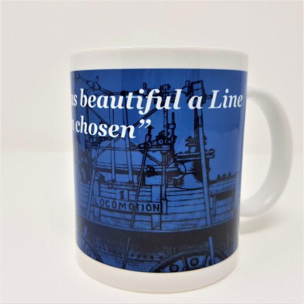 Railway memorabilia mug