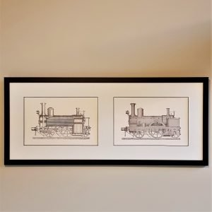 Sans Pareil Hackworth Railway Print