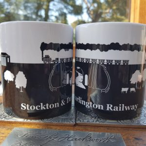 skerne bridge mugs on hackworth coaster