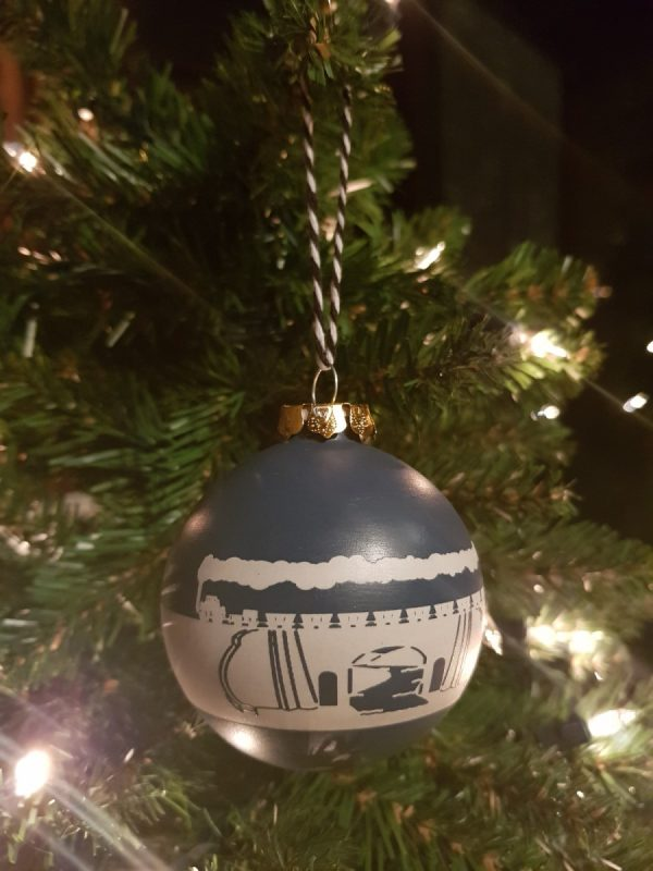 S&DR Ceramic Christmas Bauble