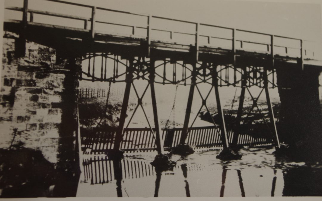 The Gaunless Bridge before alterations in 1901